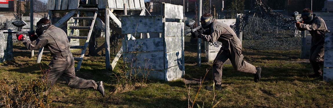 Outdoor Paintball € 13,00 p.p.